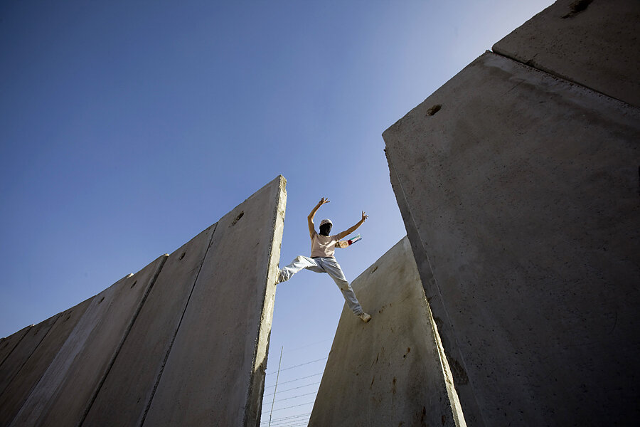 the israeli separation barrier a west bank wall