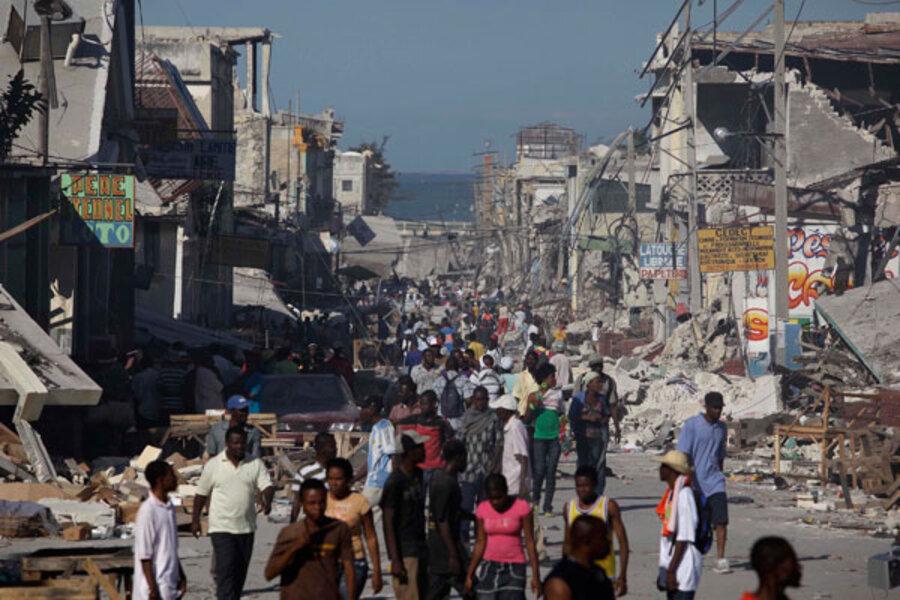 землетрясение в гаити видео кареток неинтегрированной