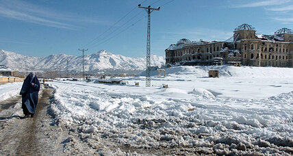 Afghanistan in winter