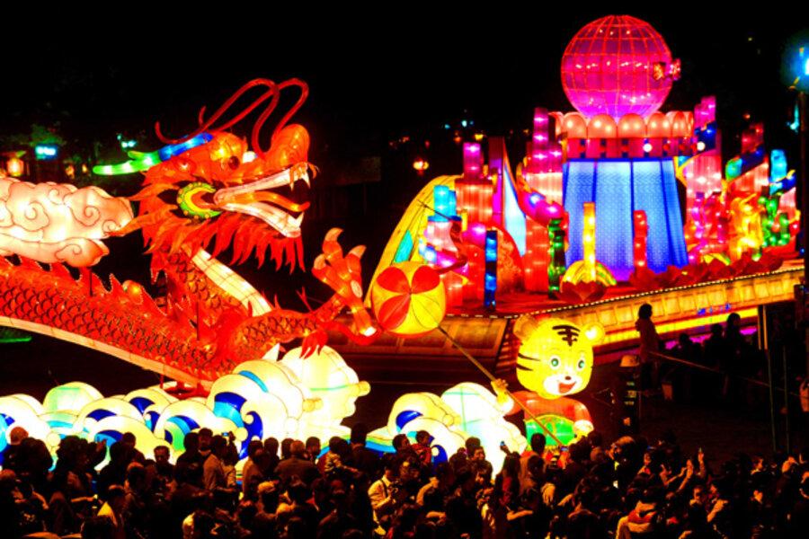 China S Lantern Festival Csmonitor Com