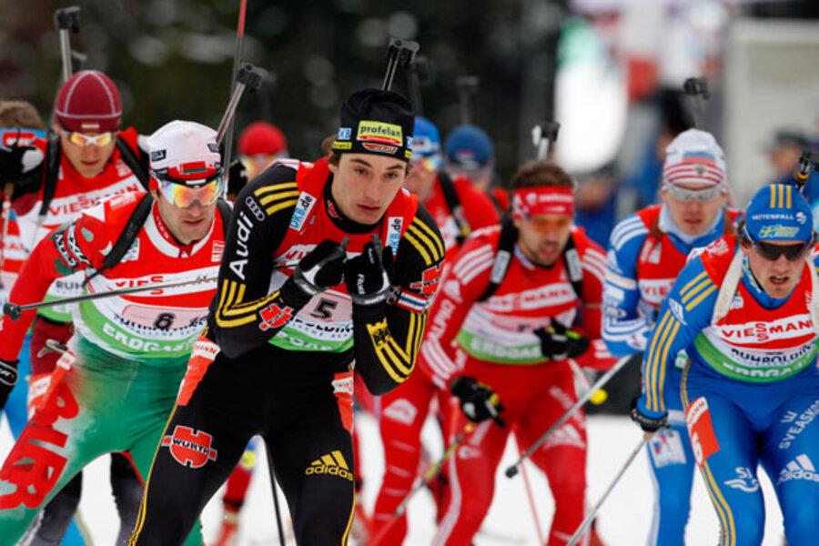 125 kilometres pursuit to win his second gold of the international biathlon union (ibu) world cup season as