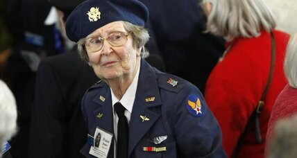 Arlington Cemetery inurnment opens to WWII women pilots (+video)