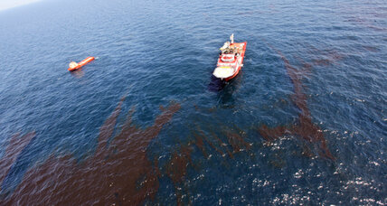 Destructive Oil Spills