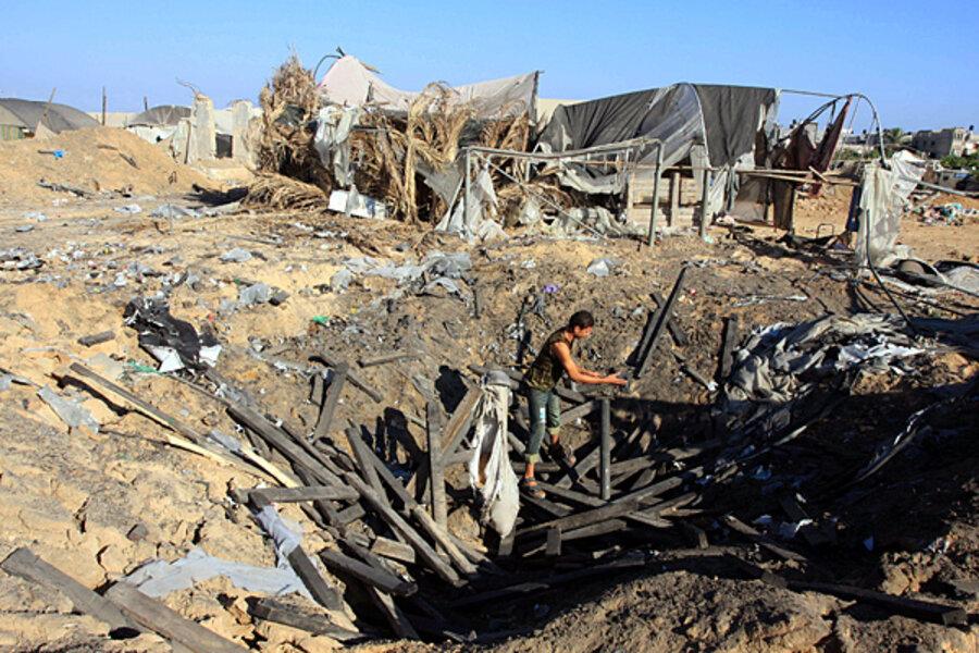В Израиле нашли способ борьбы с ракетными обстрелами из сектора Газа