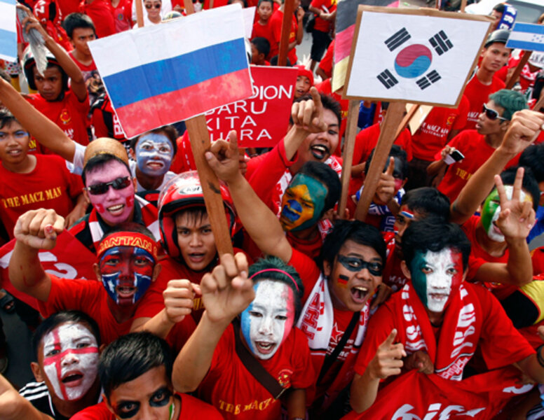 Crazy World Cup fans - The Christian Science Monitor