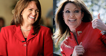 Who's who? Christine O'Donnell & Sarah Palin