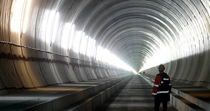 Swiss Tunnel: World's longest tunnel
