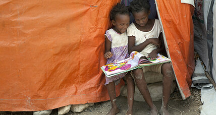 Haiti: Life in a tent