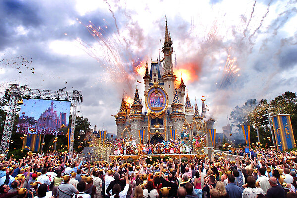 have disney�s theme parks become playgrounds for the rich
