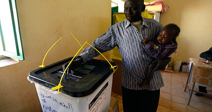 South Sudan referendum