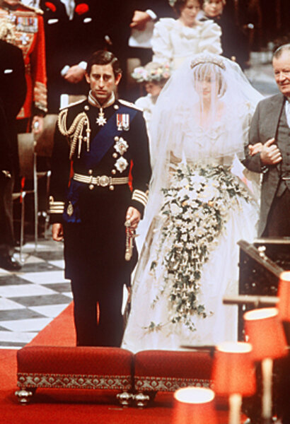 princess diana s wedding day csmonitor com princess diana s wedding day