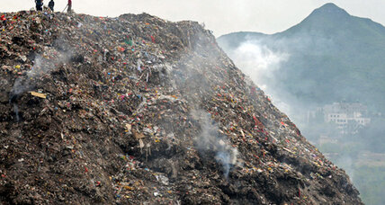 China's growing garbage