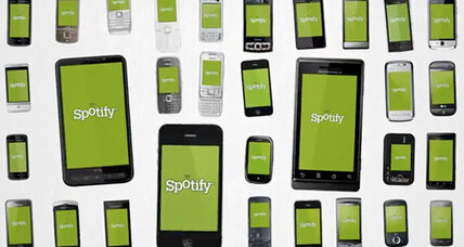 Spotify streamed 4.5 billion hours of music in 2013
