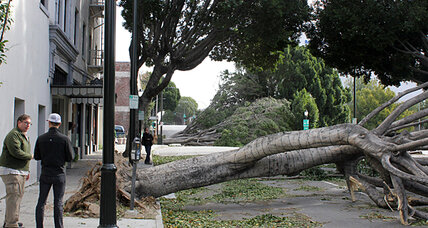 Dangerous Santa Ana winds
