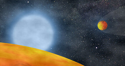 Astronomers spot humongous star devouring planet (+video)