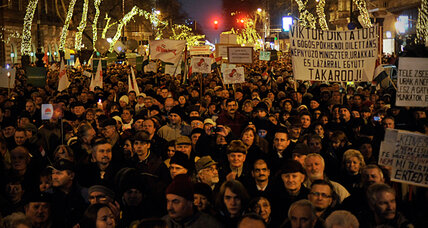 Hungarians cry foul as new Constitution comes into effect