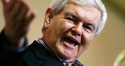 Iowa caucuses: Can 'relentlessly positive' Gingrich rebound with negativity?