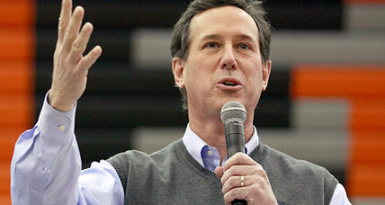 Rick Santorum tears up ahead of Iowa caucuses. Why that's not a problem.