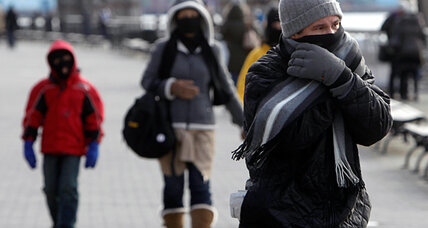 The scold in Mother Nature's cold: It's winter! Wear a coat! (VIDEO)