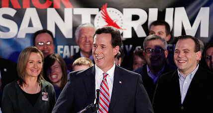 How GOP's rising Rick Santorum could compete through Super Tuesday