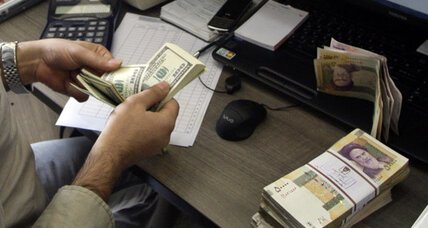 Iran's currency crash a blow to Ahmadinejad
