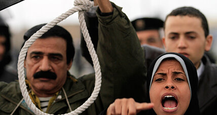 Death penalty for Egypt's Mubarak: How will that play with the tin-pot despot set?