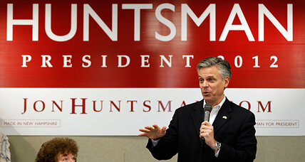 Jon Huntsman looks to pull a 'Rick Santorum' in New Hampshire