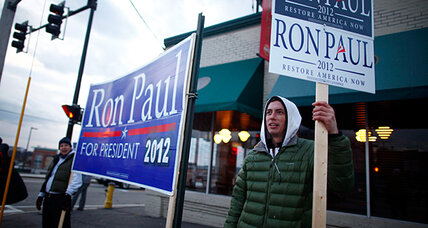 Why Ron Paul, graybeard of GOP race, lights up the youth vote