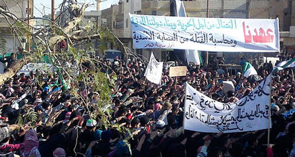 In Syria, peaceful protests – but also signs of growing violence (+videos)