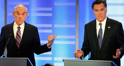 New Hampshire Republican debate: Why isn't Ron Paul attacking Mitt Romney?