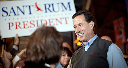 Rick Santorum sweater vest: 'What not to wear' or sleeveless genius?