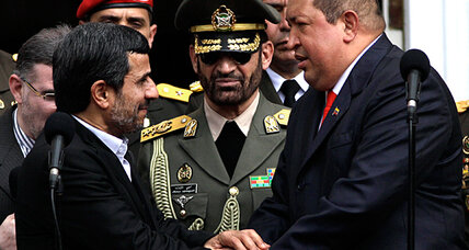 US expels Venezuelan diplomat as Ahmadinejad makes Latin America tour