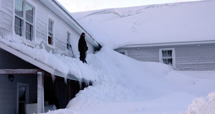 Alaska town tries to dig out after three weeks of relentless snow