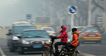 Beijing's air: like standing downwind from a forest fire
