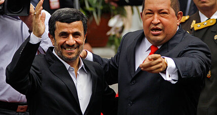 Ahmadinejad, Chavez taunt US from Caracas