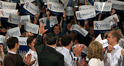 New Hampshire primary gives Mitt Romney a historic win-win (+video)