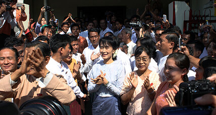 Myanmar's Aung San Suu Kyi confirms run for parliament seat, legitimizing elections