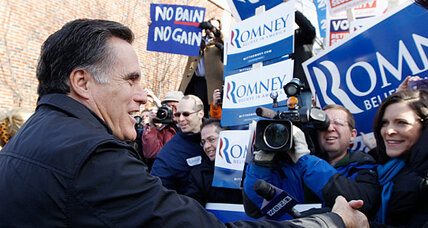 How Mitt Romney's GOP foes are doing Obama's work for him (+video)