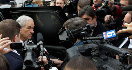 Is Ron Paul getting too much media attention?