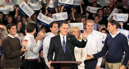 New Hampshire primary results: Mitt Romney wins (+video)