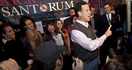 Sweater vests from Rick Santorum: overpriced?
