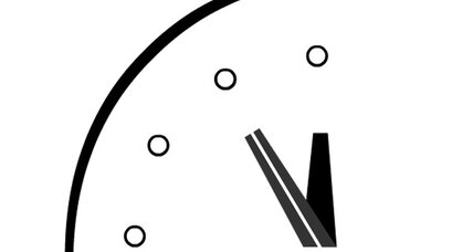 Doomsday clock remains set at five minutes to midnight