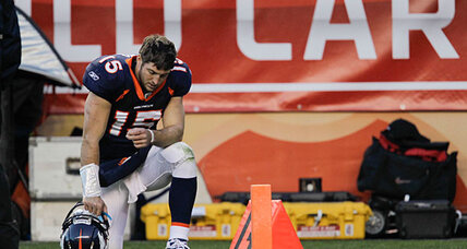 Poll: God helps Tim Tebow win football games. Does Tim Tebow agree?
