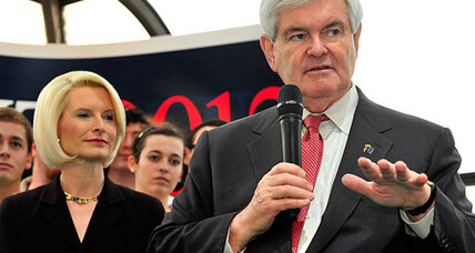 Is Newt Gingrich only hurting himself with attacks on Mitt Romney?
