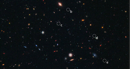 NASA able to observe a long time ago, in newly found galaxies far, far away