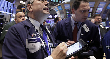 Stock prices rally late; Dow up 21