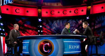 Stephen Colbert for president? What's his point?