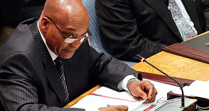 Zuma tells the UN: Listen to African Union