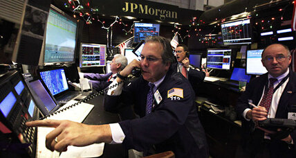 Stock prices fall on European credit rumors