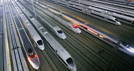 California's high speed rail hits a speed bump